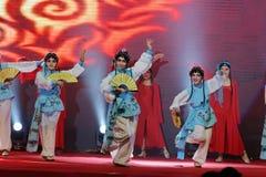 Ópera de Facebook-Pekín del rap que canta y que baila fotografía de archivo libre de regalías
