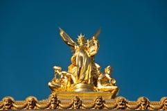 Ópera de Garnier de Paris Foto de Stock Royalty Free