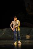 A ópera de Jiangxi da juventude da nacionalidade de Han uma balança romana Imagens de Stock Royalty Free