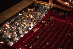 Ópera de Monnaie del La, Bélgica Imagen de archivo