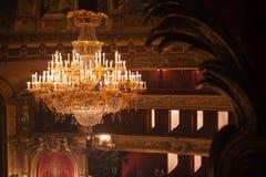 Ópera de Monnaie del La, Bélgica Fotografía de archivo libre de regalías
