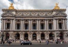 Ópera de París Garnier Fotos de archivo libres de regalías