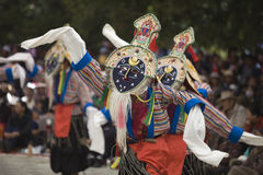 Ópera de Tibetn Fotografia de Stock