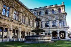 Ópera de Viena Foto de archivo