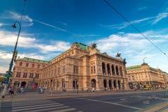 Ópera del estado de Viena Foto de archivo libre de regalías