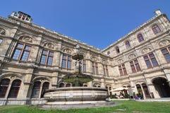 Ópera del estado, Viena Fotos de archivo libres de regalías