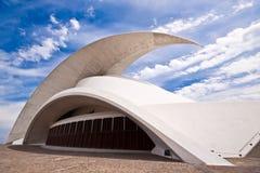 Ópera do auditório de Tenerife por Santiago Calatrava Imagens de Stock