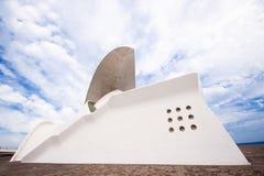 Ópera do auditório de Tenerife por Santiago Calatrava Fotografia de Stock