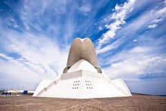 Ópera do auditório de Tenerife por Santiago Calatrava Foto de Stock Royalty Free