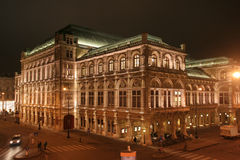 Ópera do estado de Viena - Wiener Staatsoper Imagens de Stock Royalty Free