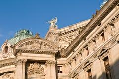 Ópera em Paris Foto de Stock Royalty Free