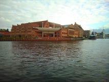 Ópera en Gdansk imagen de archivo