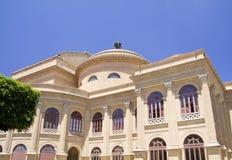 Ópera en Palermo Imagenes de archivo
