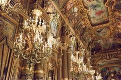 Ópera Garnier de París imágenes de archivo libres de regalías