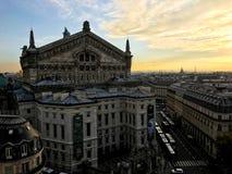 Ópera Garnier de Paris imagens de stock