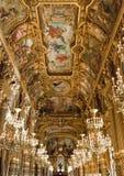 Ópera Garnier de Paris Foto de Stock