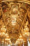 Ópera Garnier en París imagen de archivo libre de regalías