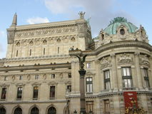 Ópera Garnier en París Imagen de archivo
