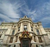 Ópera Garnier en París (en el d3ia) Fotos de archivo libres de regalías