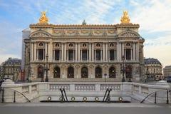 A ópera grande, Paris foto de stock