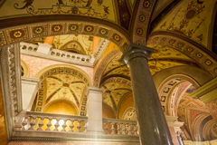 Ópera húngara Budapest del estado Foto de archivo