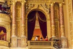 Ópera húngara Budapest del estado Foto de archivo libre de regalías