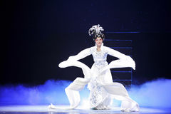 Ópera larga de manga-Jiangxi Imágenes de archivo libres de regalías