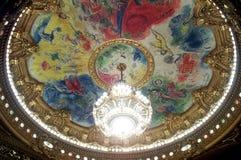 Ópera magnífica de París Imágenes de archivo libres de regalías