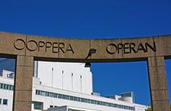 Ópera nacional finlandesa Fotos de Stock Royalty Free