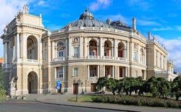 Ópera Odessa foto de archivo libre de regalías