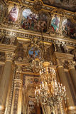 A ópera ou o palácio Garnier. Paris, France. fotos de stock royalty free