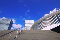 Ópera Philharmoni Luxemburgo Fotografía de archivo libre de regalías