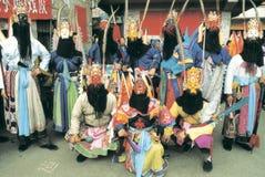 Ópera popular en China Foto de archivo libre de regalías