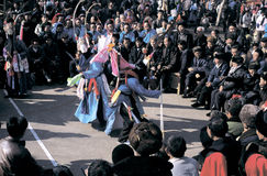 Ópera popular en China Fotografía de archivo
