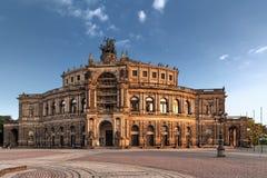 Ópera sajona del estado en Dresden Imagenes de archivo