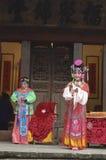 Ópera tradicional china imágenes de archivo libres de regalías