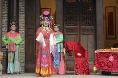 Ópera tradicional china fotos de archivo libres de regalías