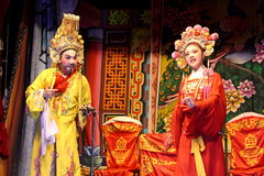 Ópera tradicional chinesa Imagens de Stock Royalty Free
