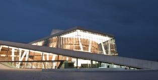 Ópera y ballet nacionales noruegos Imágenes de archivo libres de regalías