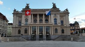 Ópera Zurich Fotos de archivo libres de regalías