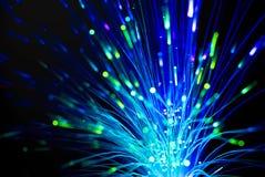 Óptica de fibras Fotografía de archivo libre de regalías
