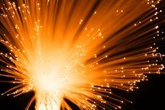Óptica de fibras Imagen de archivo