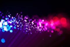 Óptico de fibra Foto de archivo libre de regalías