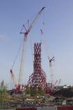 Órbita de ArcelorMittal Imagenes de archivo