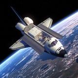 Órbita del transbordador espacial ilustración del vector