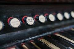 Órgão Bass Coupler Fotografia de Stock