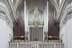 Órgão da igreja Imagens de Stock