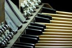 Órgão da igreja Foto de Stock