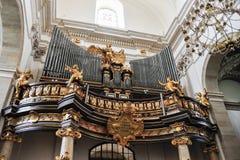 Órgão da igreja de Saint Peter e de Paul Imagem de Stock Royalty Free