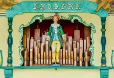 Órgão da música Imagem de Stock